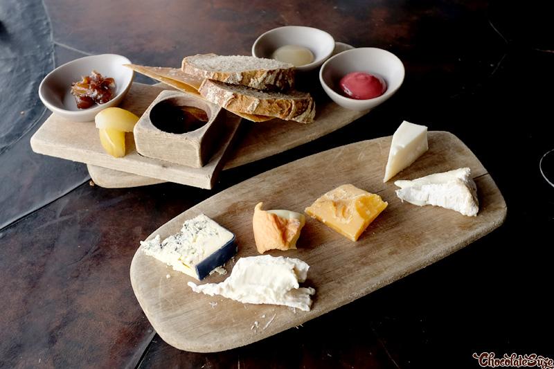 Cheeses at Vue de monde, Melbourne