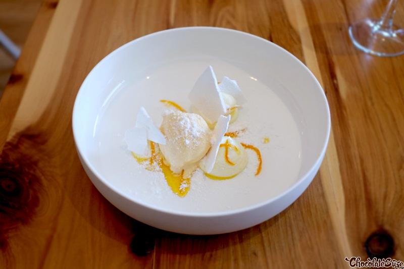 Dessert at Moxhe, Bronte