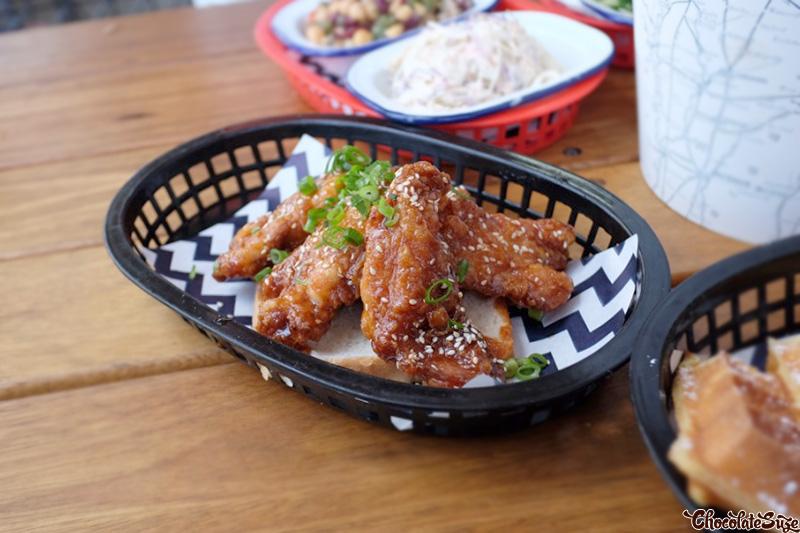Chicken Ribs at Belles Hot Chicken, Barangaroo