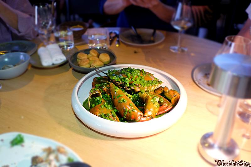 Crab at Cirrus Dining, Barangaroo, Sydney