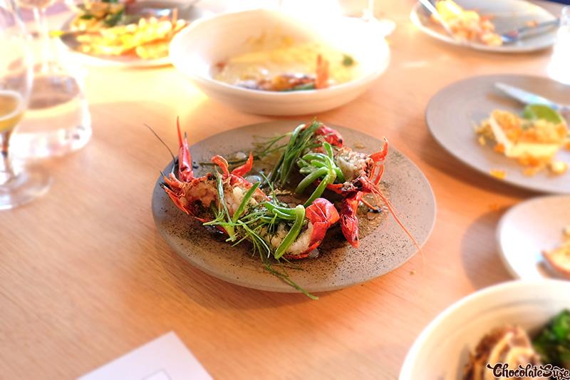 Marron at Cirrus Dining, Barangaroo, Sydney