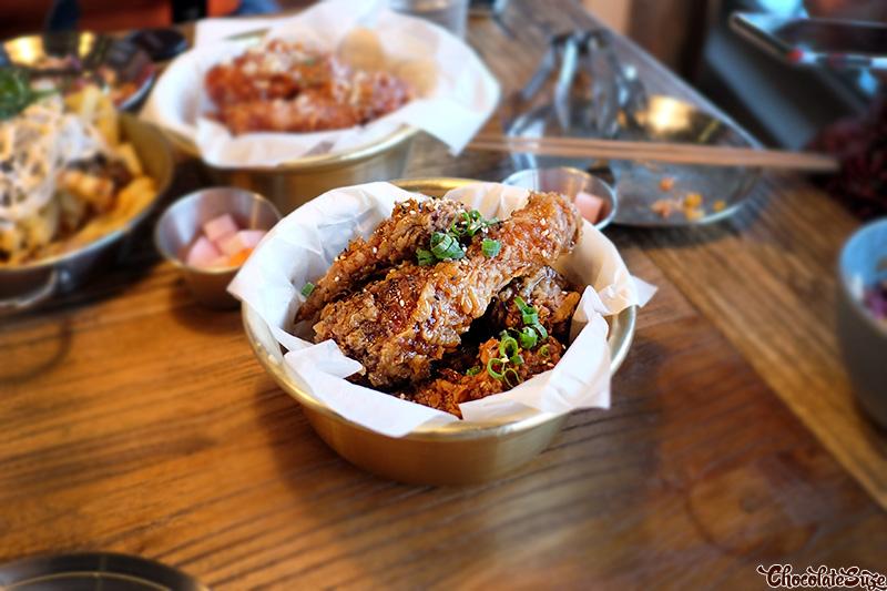 Soy garlic chicken at Flying Tong, Newtown