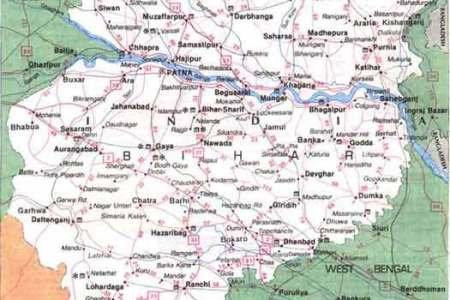 map of bihar state related keywords & suggestions map of