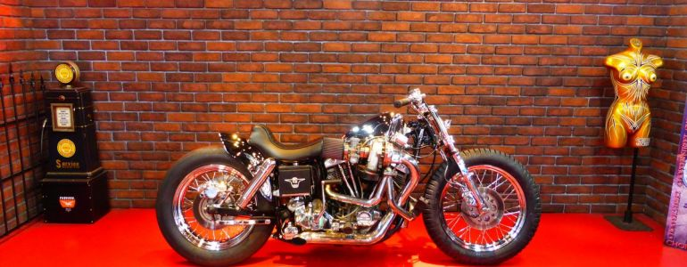 1975 H-D FXE Turbo charged shovelhead Tylers-Dsign