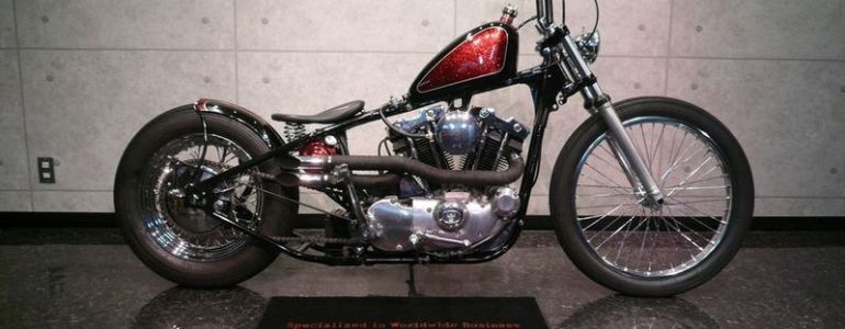 73shovel bobber custom