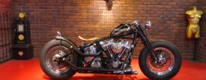 1989年 FLSTC old-bobber custom