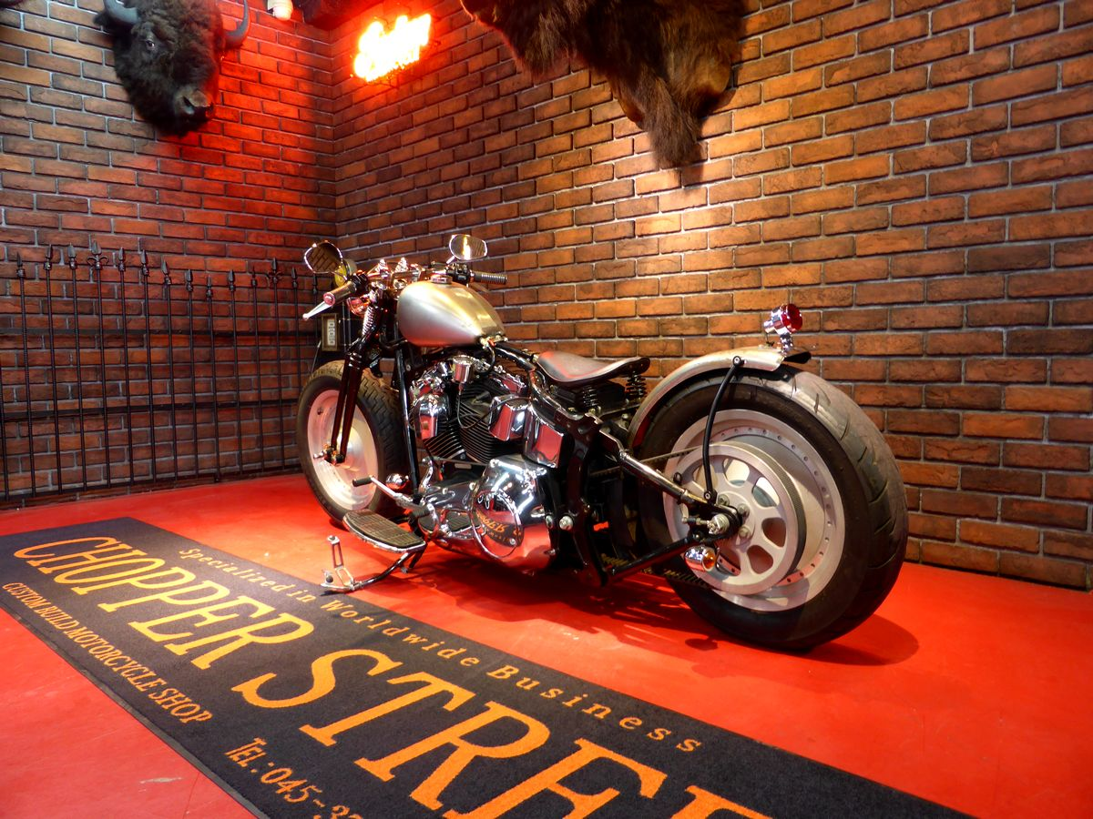 2002年 FLSTF old-bobber custom