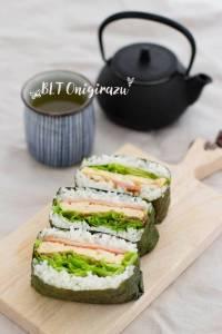 Rice Sandwich BLT Onigirazu おにぎらず
