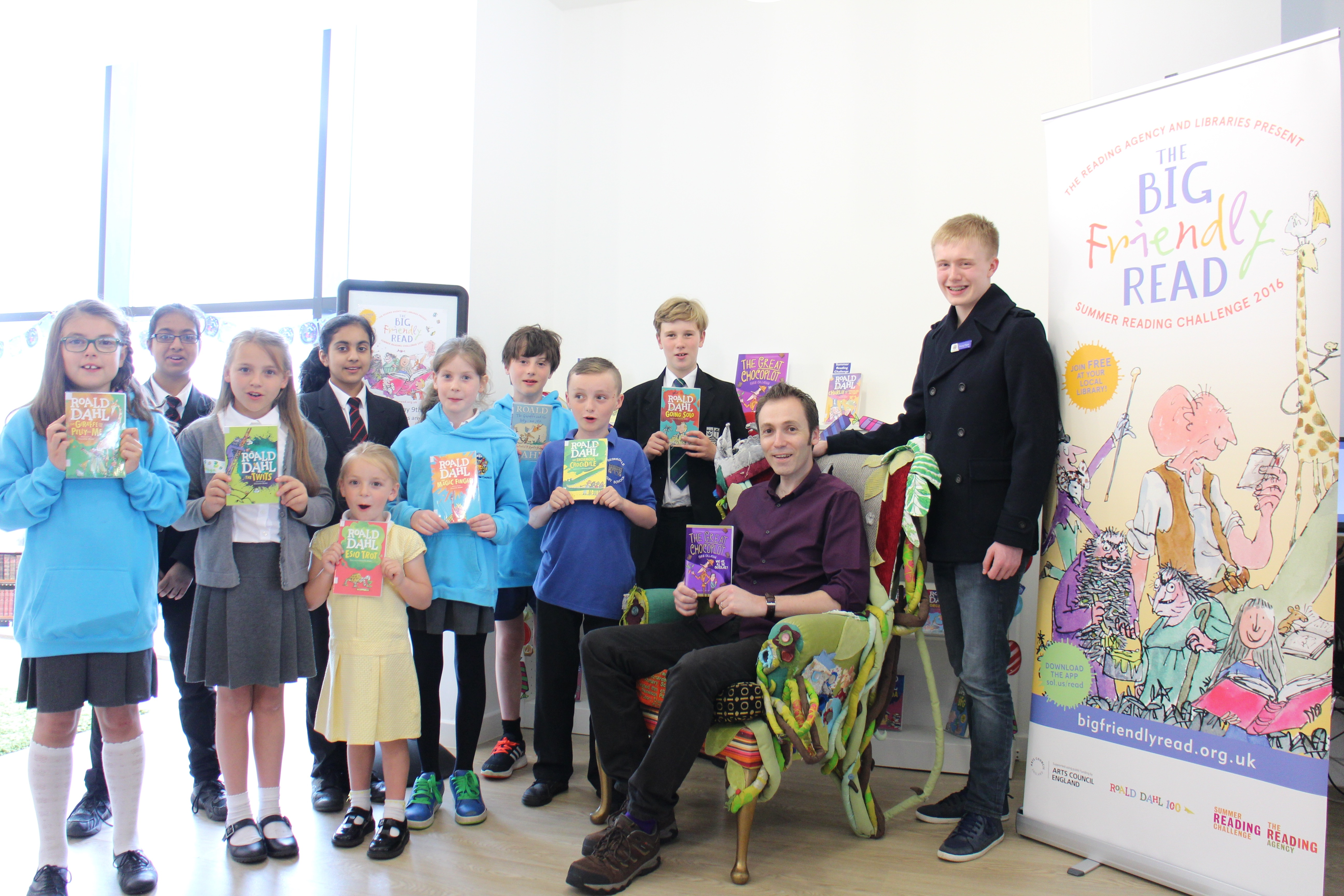 Launching the Scheme with the Young Mayor and Councellors