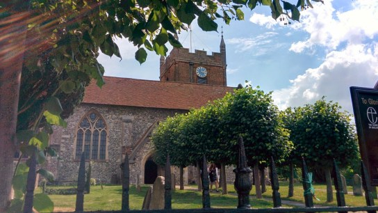August: Trevor and Sarah tie the knot in Hampshire