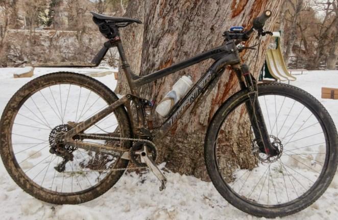My bike has taken a hammering