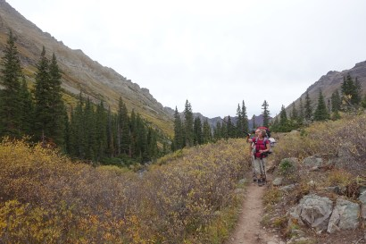 Climbing the West Maroon Trail