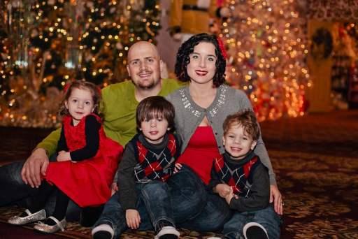 2012 Williams family photo