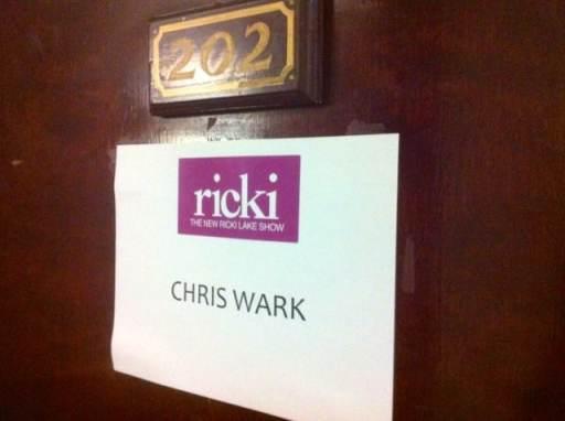 Chris Wark Ricki Lake