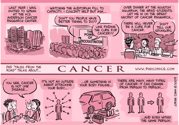 This cartoon brilliantly explains the truth about cancer research