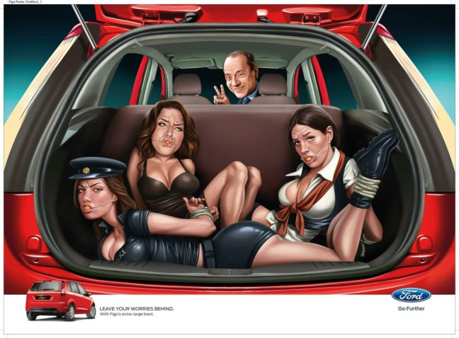 ford-figo-sexist-print-ad-starring-silvio-berlusconi