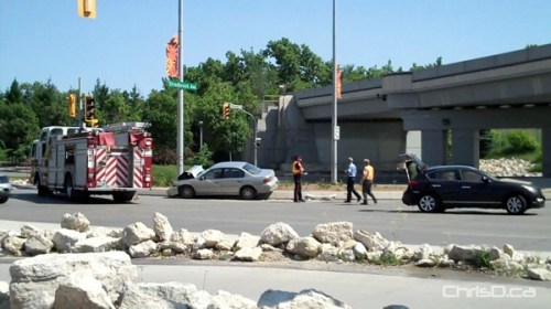Stradbrook and Main Car Accident