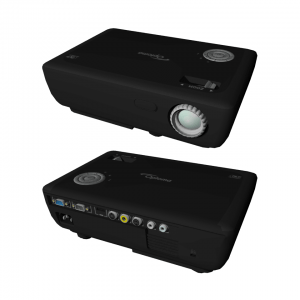 3D projector white