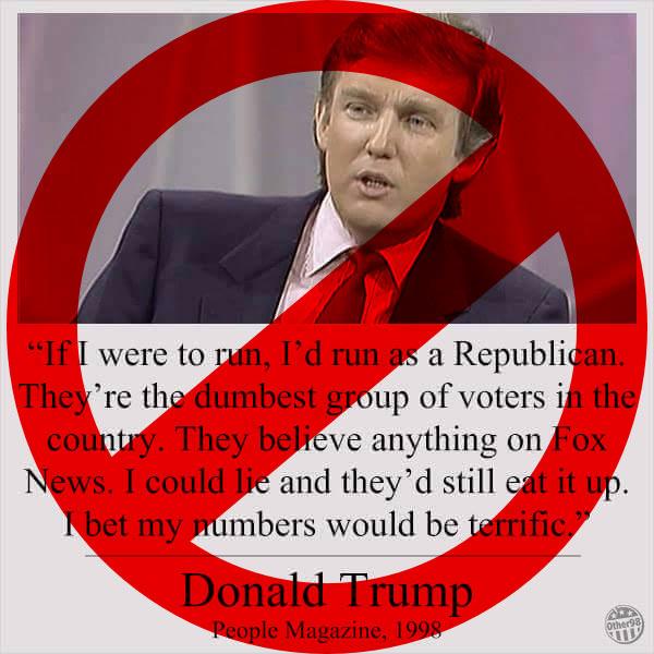 Fake Trump Meme