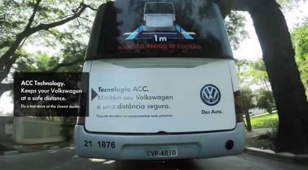 vw distance control ad