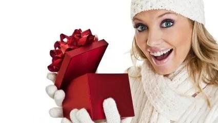 woman-holding-present