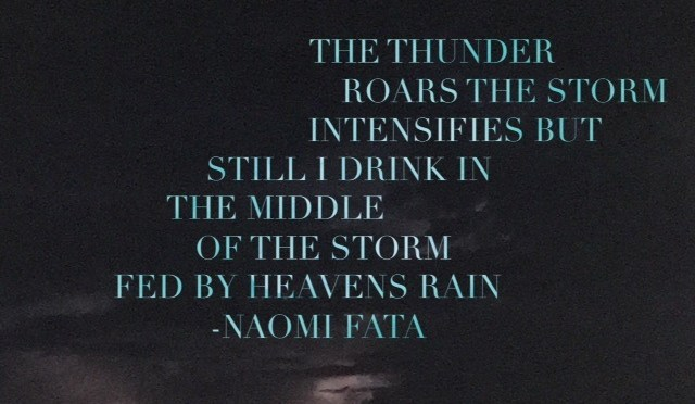 Inspirational religious poems about the storm of life