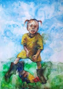 Participation in the International Biennial watercolour Castra 2015, Slovenia 50x70 cm, aquarelle, 2015