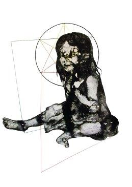 Seduction 1, ink on paper, 70 x 100 cm, 2015