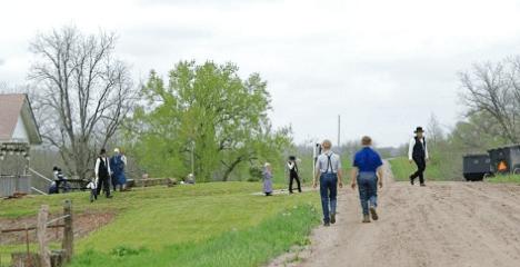 """Die letzte Zeitung der Welt: """"The Budget"""" – die altmodisch-moderne Wochenzeitung der Amish"""