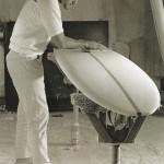 Board shaper Ken Tilton (1962) Photo Leroy Grannis