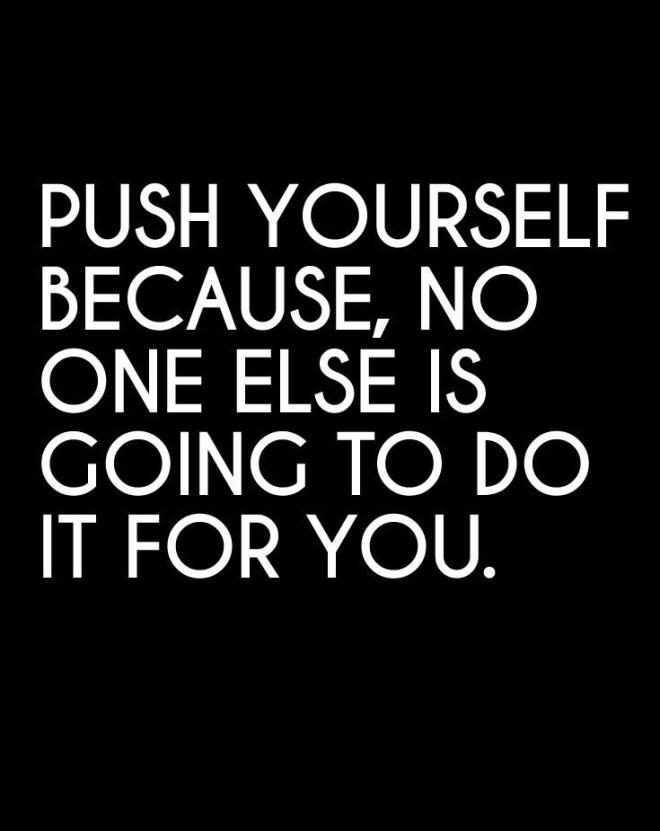 To push away