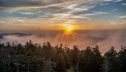 Clingmans Dome Smoky Mountains Tennessee