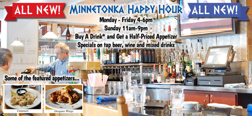 Happy Hour at Christos Minnetonka