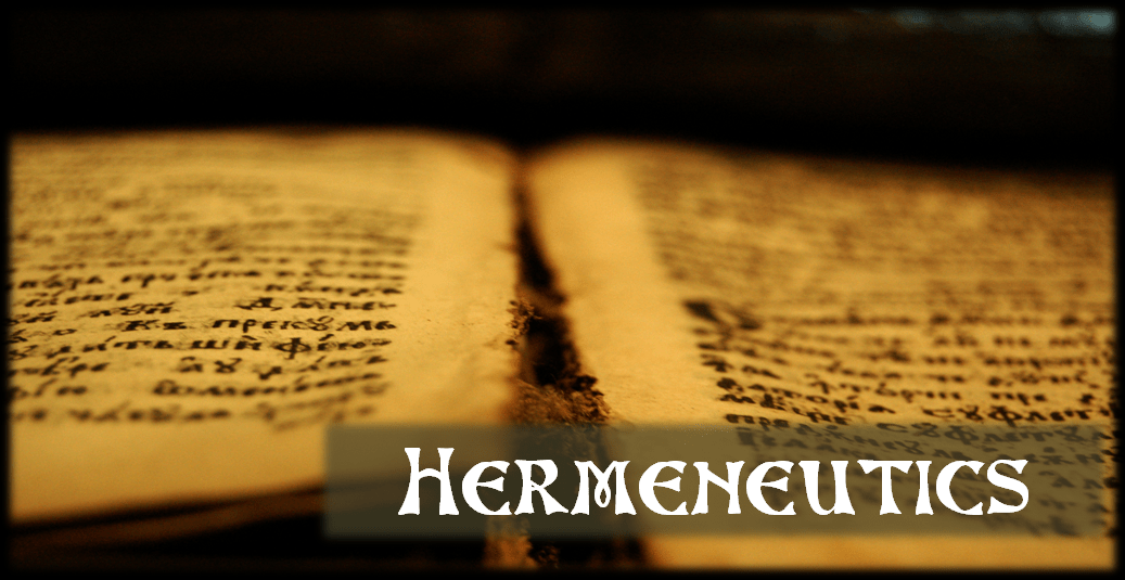 Atheistically Speaking Hermeneutics