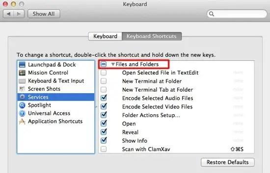 Pic 3 - Keyboard Shortcuts