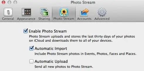iPhoto Preferences