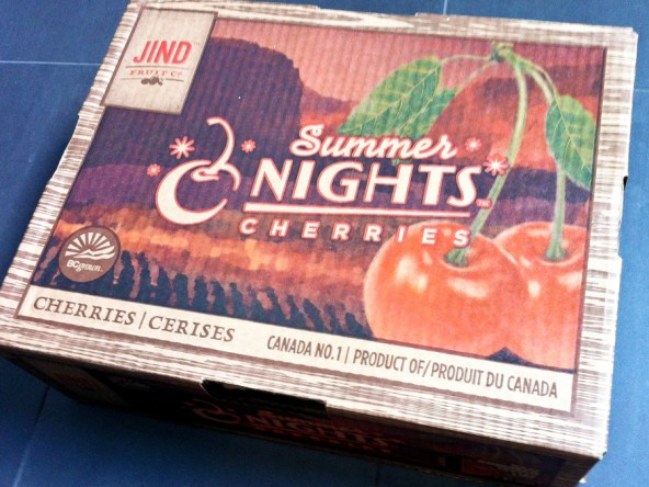 Jind Fruit Co. Summer Nights Cherries box