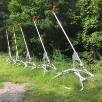 Five (5) HKD 10ft Impulse snow makers with S-series Sled