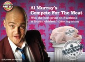 Al Murray Compete For Meat