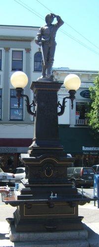 Lithia Square, downtown Ashland, Oregon