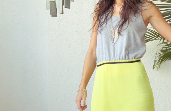 Mango Maxi Dress & Purse-001