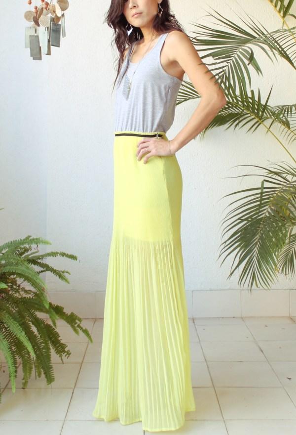 Mango Maxi Dress & Purse-12