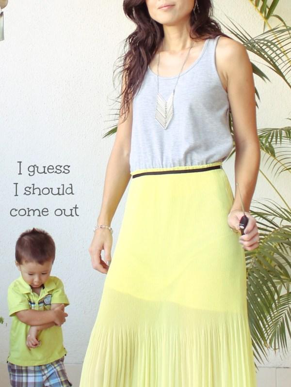 Mango Maxi Dress & Purse-8