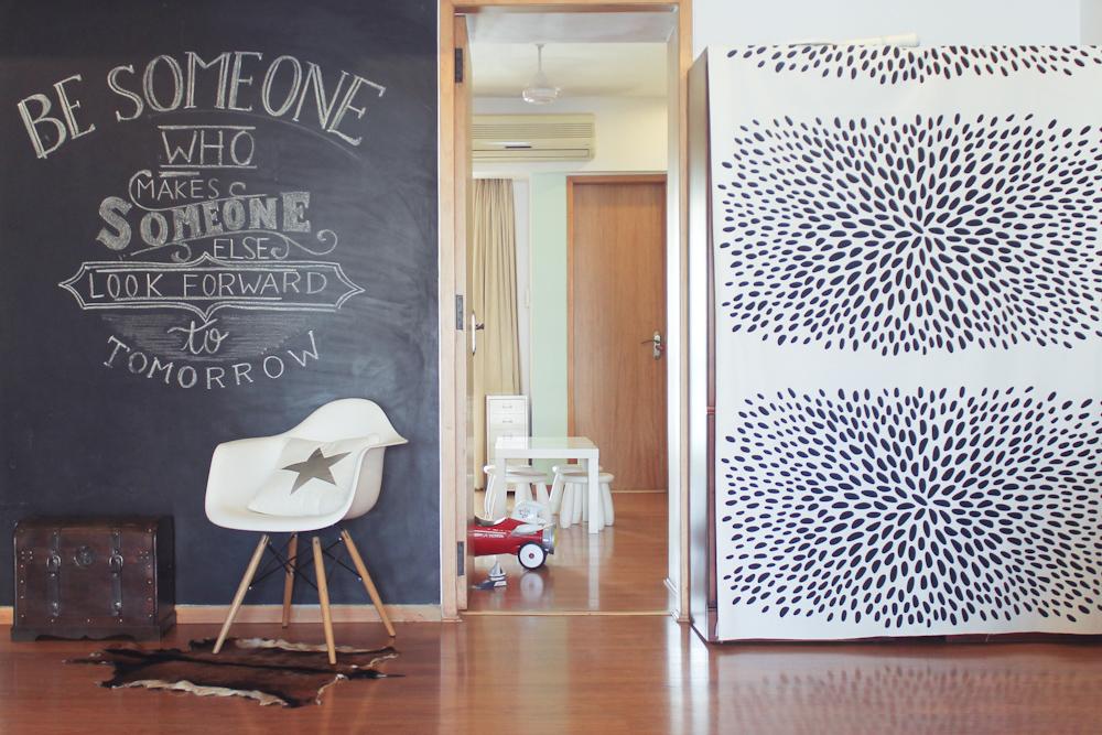 Chalkboard & Kids