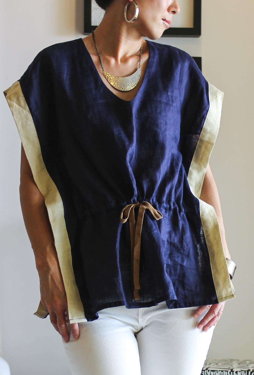 maomao navy shirt