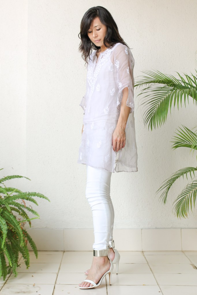 Ahilaya Indian Embroidery Kurti