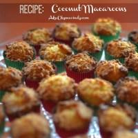 Sweet Treats: Mini Coconut Macaroons