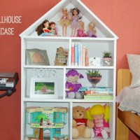 DIY: Dollhouse Bookcase (From An Old Bookcase)