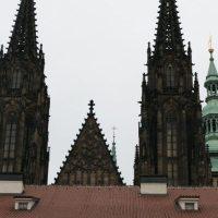 Prague, Czech Republic / Prague Castle + St. Vitus Cathedral