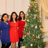 A Christmas Party With My Friends